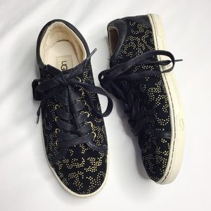 UGG Tomi Metallic Conifer Sneakers Size 7
